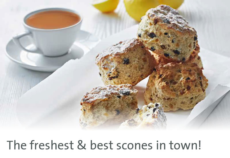 The freshest & best scones in town!