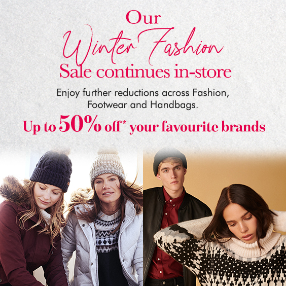 Winter Fashion Sale Event